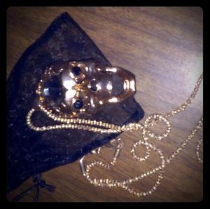 Open Skull Necklace